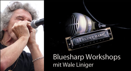 Bluesharp Workshops mit Wale Liniger